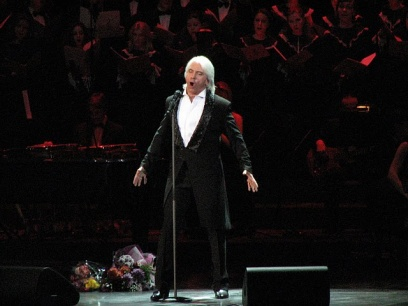 DMITRY HVOROSTOVSKY: CONCERT ON THE STAGE OF MOSCOW CONSERVATORY'S GRAND HALL