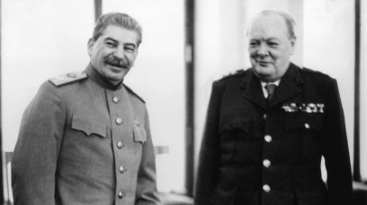 STALIN AND CHURCHILL: BATTLE OF THE TITANS